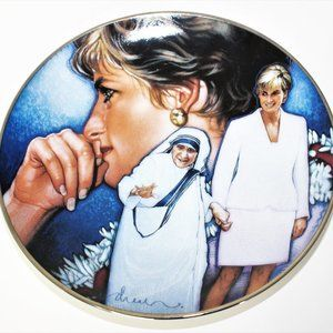 Angels Among Us by Drew Art Deco plate